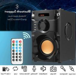Wireless Portable FM Bluetooth Speaker Subwoofer Heavy Bass