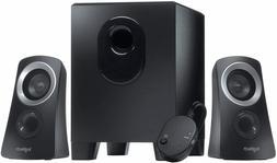 Logitech Z313 2.1-Channel Speaker System 50 Watt With Subwoo