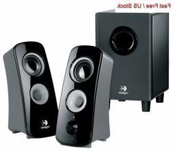 Logitech Z323 Speaker System 2.1-channel - 30W  980-000354